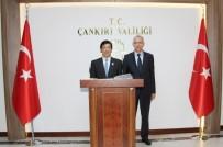 Japonya'nın Ankara Büyükelçisi Miyajima Çankırı'da