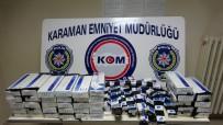 KAÇAK İÇKİ - Karaman'da Kaçak İçki Ve Sigara Operasyonu