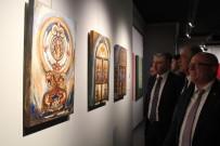 RESIM SERGISI - MEDAŞ Sanat Galerisinde Karma Resim Sergisi Açıldı