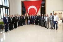 İŞ GÖRÜŞMESİ - Melikgazi'de Muhtarlar Hizmet İçin Toplandı