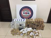 Mersin'de 2 Bin 340 Paket Gümrük Kaçağı Sigara Ele Geçirildi