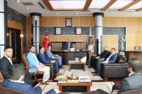 BİZ DE VARIZ - Milli Birlik Ve Düşünce Derneği Başkan Alemdar'ı Ziyaret Etti
