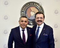 MTSO Heyetinden Hisarcıklıoğlu'na Ziyaret