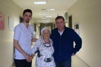 AHMET EROĞLU - Omurgası Kırılan Hastanın 9 Aylık Çilesi Bitti
