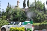 Osmanlı Padişahları Tarih Şeridi'nde İlaçlama Yapıldı