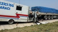 Otobanda Kaza Açıklaması 1 Ölü, 1 Yaralı