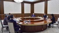VİZE MUAFİYETİ - Özbekistan Cumhurbaşkanı Mirziyoyev, Güney Kore Dışişleri Bakanını Kabul Etti