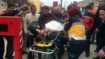 İŞ KAZASI - Sancaktepe'de İş Kazası Açıklaması 1 Yaralı
