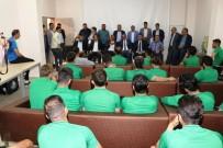 Şanlıurfaspor'a Gümüşhanespor Maçı Öncesi Moral Ziyareti
