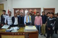Taraftarlardan Başkan Çakır'a Sürpriz Doğum Günü Kutlaması