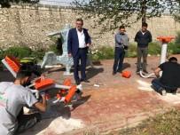 Vezirhan'da Spor Aletleri Yenileniyor