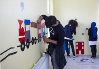OVAKıŞLA - YTÜ Öğrencileri Ahlat'ta Anaokulunun İç Dizaynını Yapıyor