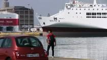 DEMIRLI - Yunanistan'da Denizciler Greve Gitti