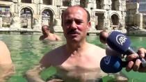 2 Bin Yıllık Antik Havuzda Yüzme Keyfi