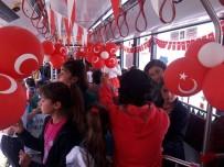 OTOBÜS TERMİNALİ - 23 Nisan Trambüsü Yola Çıkıyor