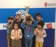 ÖDÜL TÖRENİ - 4'Üncü Geleneksel Akıl Oyunları Festivali'nde Kazananlar Ödüllerini Aldı