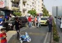 ATATÜRK KAPALI SPOR SALONU - Aceleci Yolcu Zincirleme Kazaya Neden Oldu Açıklaması 1 Yaralı