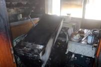 Apartman Katında Çıkan Yangın Korkuttu