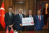 EDIZ SÜRÜCÜ - Aydın Valiliğinden Amatör Spora 211 Bin Liralık Malzeme Desteği