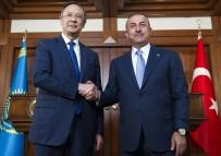 DEMİRYOLU PROJESİ - Bakan Çavuşoğlu Açıklaması 'Astana'da Olamayan Ülkeler Astana Sürecini Zayıflatmaya Çalışıyor'