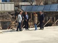 Başkan Köksoy, Kapalı Otopark İnşaat Çalışmasını Yerinde İnceledi
