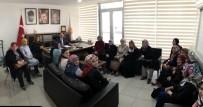 Başkan Tuğba Akbulut Ve Ekibinden Ali Çetinbaş'a Ziyaret