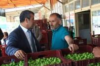 ALI ACAR - Başkan Yılmaz Yaş Meyve Ve Sebze Esnafını Gezdi