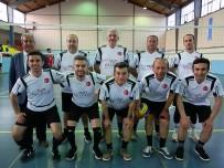 Foça'da Kurumlararası Voleybol Turnuvası