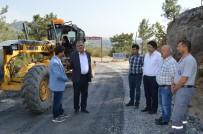 ALI ARSLAN - Gazipaşa Kızılgüney-Yeniköy Yolu Asfalta Hazırlanıyor