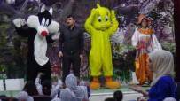 Gercüş'te Çocuklar İçin Tiyatro Oyunu Sahnelendi
