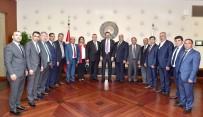 GTB Heyetinden TOBB Başkanı Hisarcıklıoğlu'na Ziyaret