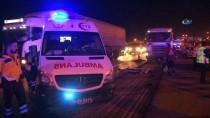 HAFRİYAT KAMYONU - Hafriyat Kamyonunun Altında Kalan Asfalt İşçisi Öldü