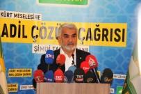 SIYASI PARTILER KANUNU - Hüda Par Genel Başkanı Yapıcıoğlu Açıklaması 'Parti Olarak Seçime Hazırız'