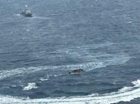 Kaçak Göçmenler TCG Martı'dan Kaçamadı