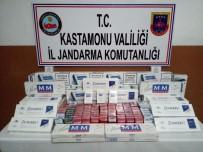 SURİYE - Kastamonu'da 815 Paket Kaçak Sigara Ele Geçirildi