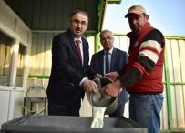 Kırsaldaki Süt Üreticilerine 450 Bin TL'lik Katkı