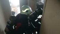 YANGINA MÜDAHALE - Malatya'da Ev Yangını Korkuttu