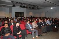 HATIPLI - Malazgirt'te 'Hz. Peygamberin Eğitim Metodu Ve Yöntemi' Konferansı