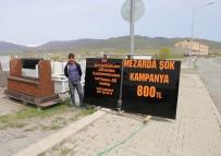 MEZAR TAŞI - Mermerciden Mezar Taşı İçin Yüzde 50 Kampanya