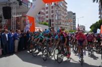 TÜRKIYE BISIKLET FEDERASYONU - Mersin Uluslararası Bisiklet Turu Başladı