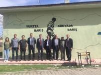 Okul Duvarına Atatürk Resmi Yapıldı