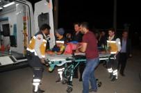Otomobil İle Motosiklet Çarpıştı Açıklaması 2 Yaralı