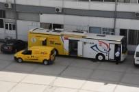 ADIYAMAN VALİLİĞİ - PTT Mobil Şubesi Hizmet Vermeye Başladı