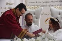 GÖKTEPE - Sinop'ta Müftü İlk Kez Nikah Kıydı