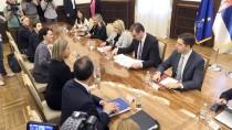 ENERJİ ANLAŞMASI - 'Sırbistan, AB'ye Üyelik Sürecinde Doğru Bir Yol İzliyor'