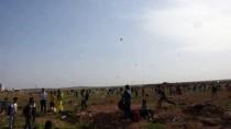 Suriye Sınırında Uçurtma Şenliği