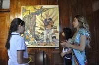 EBRU SANATı - Tarihi Konak GKV Sanat Şöleni İle Renklendi