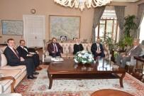 Vali Güvençer, Diyanet İşleri Başkanlığı Heyetini Ağırladı