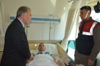 CEZAEVİ ARACI - AK Partili Şahin Yaralı Askerleri Ziyaret Etti