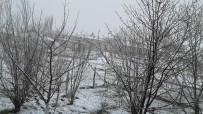 KAR KALINLIĞI - Altınyayla'da Kar Yağışı Etkili Oldu